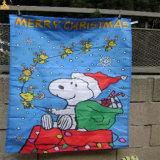 Знамя ткани сетки напольный рекламировать изготовленный на заказ, знамя сетки обруча загородки