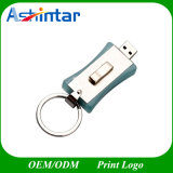 Azionamento dell'istantaneo del USB dell'anello portachiavi del metallo del USB Pendrive dell'istantaneo di memoria di Thumbdrive