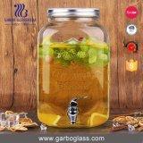 erogatore di vetro della bevanda 4500ml con differenti disegni