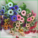 Flores Lilac falsas de seda de las flores artificiales para los comerciantes caseros de la decoración de la boda