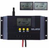 太陽電池パネルのパワー系統の料金のコントローラ12V/24Vの太陽コントローラ