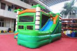 Fabulosa palmera Wet N Slide seco inflable Combo para Niños