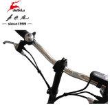 schwarzes mini faltbares Fahrrad des Lithium-24V der Batterie-250W (JSL016A-7)