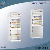 Frigorifero commerciale della visualizzazione del frigorifero del portello di vetro verticale