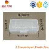 3 Fach-Plastikablagekasten
