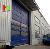 De alta velocidad rodar para arriba la puerta industrial del Roll-up de la puerta de alta velocidad del PVC de la puerta (Hz-FC02560)