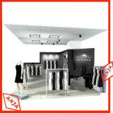 Punta de encargo de madera de la ropa del soporte de la compra para la visualización del almacén