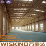 Подгонянные здание стальной структуры/стальная структура изготовленная Wiskind