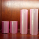 ペーパーおよびプラスチックのためのピンクの熱い押すホイルのフィルム