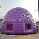 Tenda gonfiabile di evento della cupola di colore viola gigante