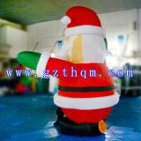 膨脹可能なクリスマスの装飾膨脹可能なサンタクロースか野外活動のための膨脹可能な漫画