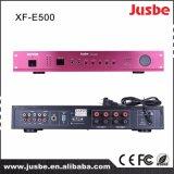Xf-M7500 직업적인 음모 주소 믹서 및 힘 통합 증폭기