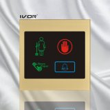 아크릴 개략 프레임 (SK dB100S4)에 있는 호텔 현관의 벨 시스템 옥외 위원회