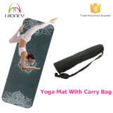 La estera cómoda de la yoga del resbalón de Eco no, sistema de la alineación de la carrocería, SGS certificó el material del caucho natural