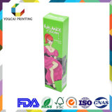 Rectángulo de color cosmético plegable rectangular de la alta calidad barata de la fuente para la crema Packagine del Bb