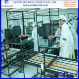 流れのストリップまたは倉庫の最も安いプラスチック上塗を施してある管ラック