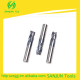 CNC/van de Hulpmiddelen van het Malen van de Snijder van de Hoek van het Carbide van het wolfram de Molens van het Eind van de Straal van de Hoek