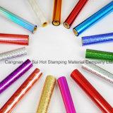 Varie le clinquant coloré pour le cuir de papier en plastique