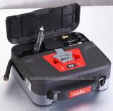 Compressore d'aria portatile della gomma di automobile 12V con l'indicatore luminoso del LED