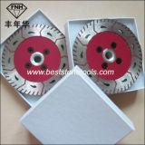 Lámina de sierra doble con brida Gct Lámina de sierra de brida (115-230mm)