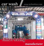 Automatische Tunnel-Auto-Wäsche-Maschine mit Rad-Pinseln für Förderung