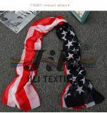 Sueño americano bandera de la nación de impresión de la bufanda