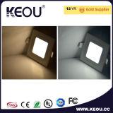 Het Hoge LEIDENE CRI van Samsung Uiterst dunne Plafond AC85-265V van het Comité 12W