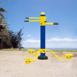 Cuerpo de acero galvanizado Triple Twister Jardín gimnasio al aire libre