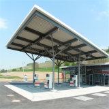 Taller barato de la gasolinera de la estructura de acero con diseño moderno
