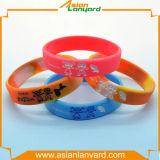 A forma da promoção ostenta o Wristband do silicone