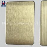 Лист золота Rose золота PVD покрашенный нержавеющей сталью металлопластинчатый для украшения