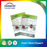 Matériau de construction promotionnel Papier mural Carte de couleur pour la publicité