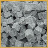 床および壁のための最も安いG603薄い灰色の花こう岩の床タイル