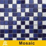 Mosaico de cerámica de la venta de la mezcla caliente del cuadrado para la piscina 6m m (natación P H01/H02/H03/H04)