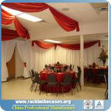 Justierbares Querwellen-Hintergrund-Rohr und drapieren für Hochzeit