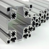 Profil en aluminium industriel anodisé de trous de l'argent 8