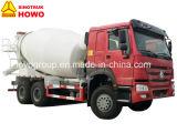 Carro del cemento de la bomba del mezclador concreto de Sinotruk HOWO 6X4 371HP 10m3