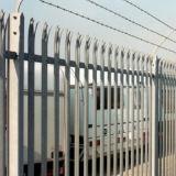 熱いすくいの電流を通された鋼鉄柵の塀/粉の上塗を施してある柵の塀