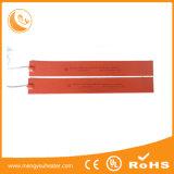 Placa quente de borracha de silicone do calefator elétrico de isolação dobro