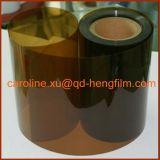 Transparente Película plástica rígida de PVC laranja para embalagem farmacêutica