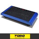 Mini placa loca de la vibración del ajuste - máquina llena del masaje de la talladora de la carrocería