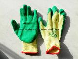 Rubber Handschoenen die Handschoenen voor de Uitvoer werken