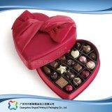 Caixa de empacotamento dada forma coração do presente do Valentim para o chocolate dos doces (XC-fbc-016)