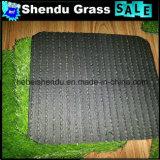 gramado artificial do monofilamento de 25mm para a decoração de Gallary