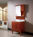 Module de salle de bains en céramique de salle de bains de chêne fixé au sol de Furinture