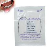 Ni-Ti dentaire d'approvisionnements ouvert et ressort fermé de Distalized pour l'usage orthodontique