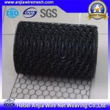 Fio sextavado Nettting com fio revestido galvanizado/quente do ferro de Dipped/PVC