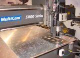 Pièces de machines en aluminium de usinage de fabrication de tôle de commande numérique par ordinateur avec la rotation