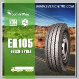 pneu radial du camion 12r22.5 tout le pneu en acier de camion léger de constructeur de pneu du pneu TBR de camion
