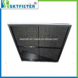 Filtro de ar de nylon do engranzamento da venda quente com frame de alumínio
